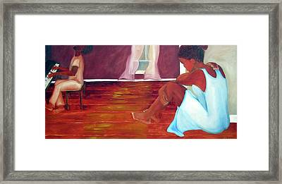 Longing Framed Print by Alima Newton