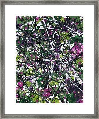 Longing For Spring. Framed Print