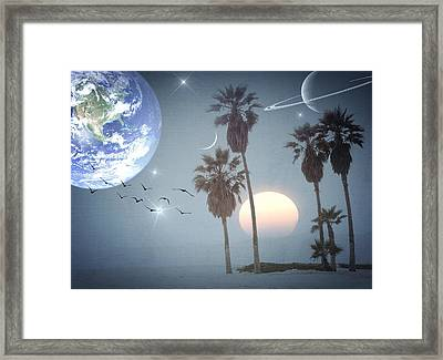 Longing Framed Print by Marianna Mills
