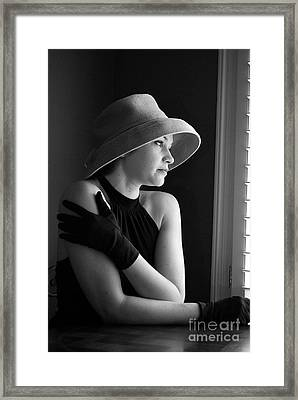 Longing Framed Print by Nancy Bradley