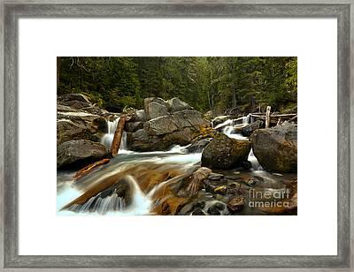 Longmire Van Trump Creek Framed Print by Adam Jewell