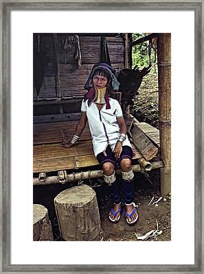 Longneck Beauty Framed Print by Steve Harrington