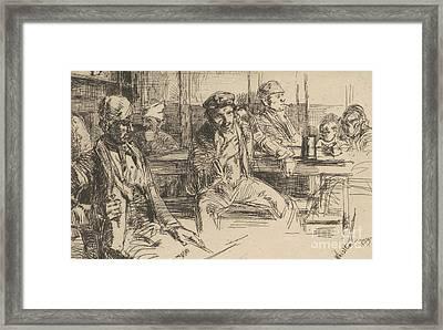Longshoreman, 1859 Framed Print