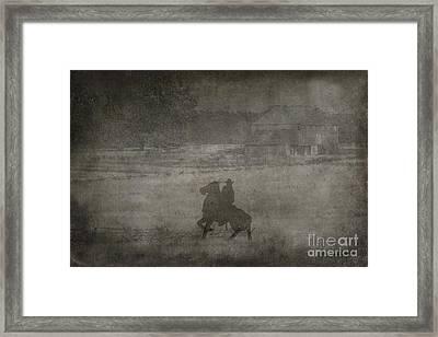 Longstreet Rides Again Framed Print by Randy Steele