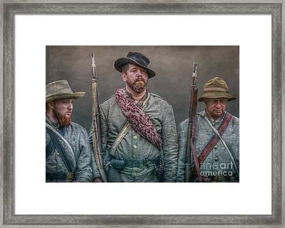 Longstreet's Boys Framed Print