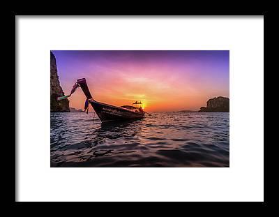 Thailand Framed Prints
