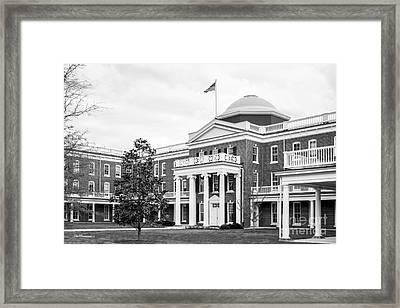 Longwood University Ruffner Hall Framed Print