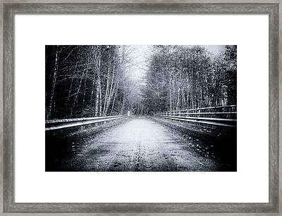 Lonliness Highway Framed Print by Spencer McDonald