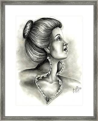 Look Above Yourself Framed Print by Scarlett Royal