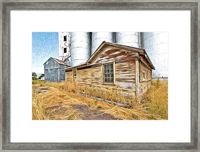 Look At Me Now Framed Print by James Steele