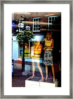 Look Back In Me Framed Print by Jez C Self