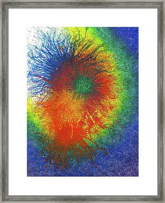 Look For The Rainbow When It Rains #449 Framed Print