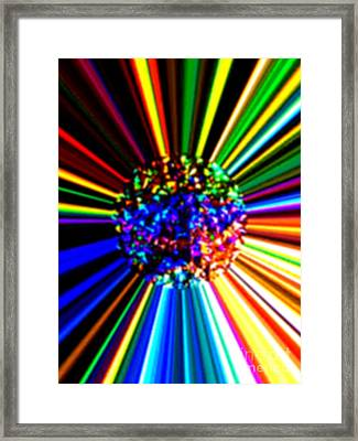 Look Forward To A Life Filled With Happiness Framed Print