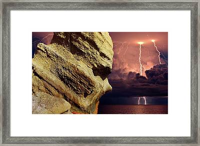 Look From Millennia Framed Print by Yuri Hope