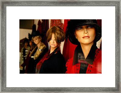 Look Girls Not Long Now Framed Print by Jez C Self