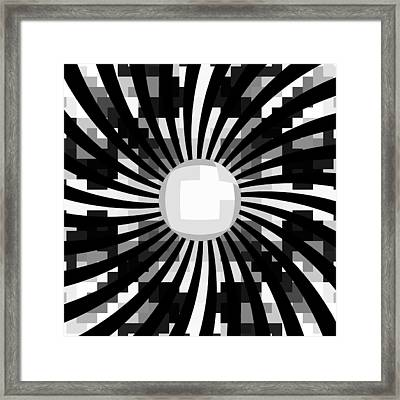 Look Me In The Eye Framed Print by Vic Eberly