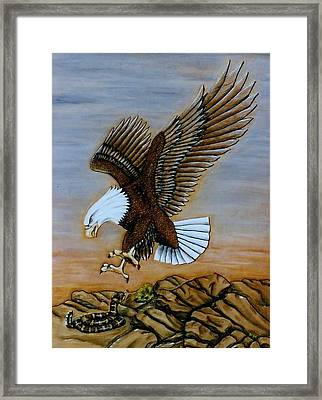 Look Out. Framed Print by Lilly King