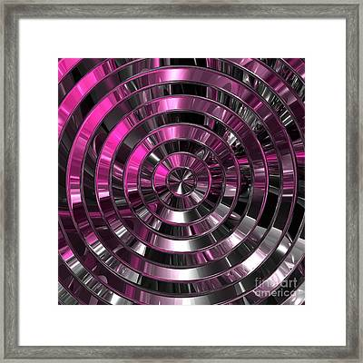 Look To The Center Framed Print