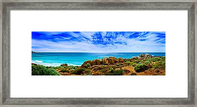 Look To The Horizon Framed Print by Az Jackson