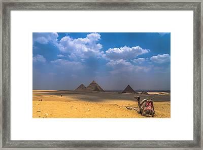 Look Towards The Ancient Wonder Framed Print