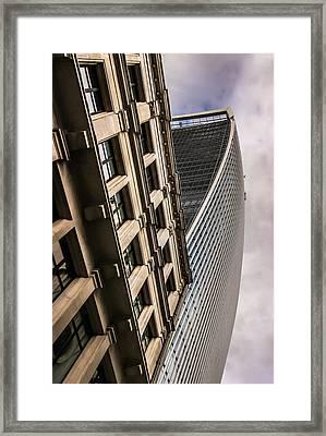 Look Up Framed Print by David Warrington