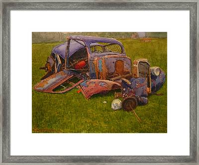 Look What They Done To My Car Ma Framed Print