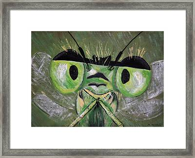 Lookin At You Framed Print by Melisa Meyers