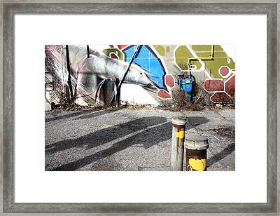 Lookin For Somthin Framed Print by Kreddible Trout