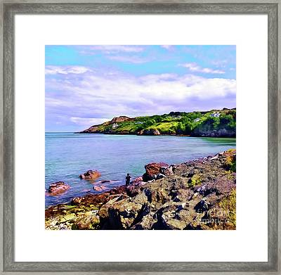 Looking Across Framed Print