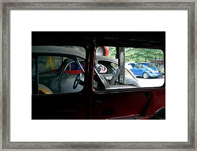 Looking At My Chms Framed Print by Jez C Self