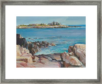 Looking At Walkers Point Estate  Framed Print