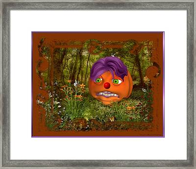 Looking At You Framed Print by Morning Dew