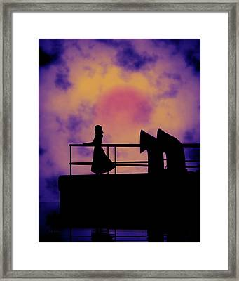 Looking Back Framed Print by Bob Orsillo