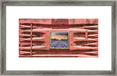 Framed Print featuring the photograph Looking Back by James BO Insogna
