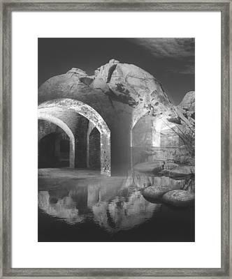 Looking Beyond Framed Print by Bob Bennett