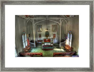 Looking Down Crescent Hill Baptist Church Framed Print