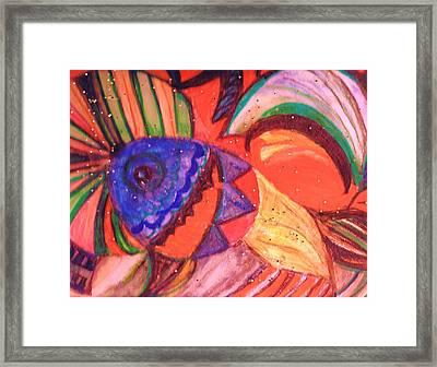 Looking For A Rainbow Framed Print by Anne-Elizabeth Whiteway