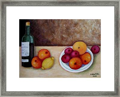 Looking For Cezanne II Framed Print by Madalena Lobao-Tello