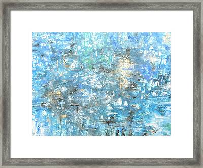 Looking For Heaven Framed Print