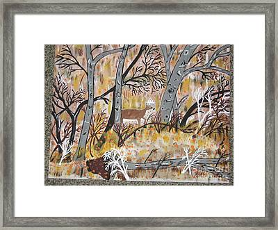 Framed Print featuring the painting Looking For Love by Jeffrey Koss