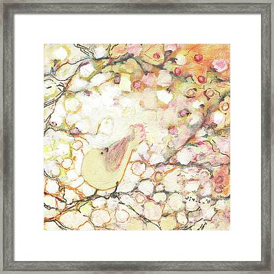 Looking For Love Framed Print by Jennifer Lommers
