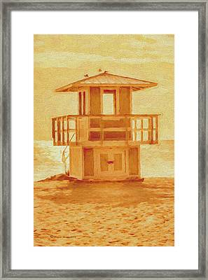 Looking For Summer Framed Print by Marvin Spates
