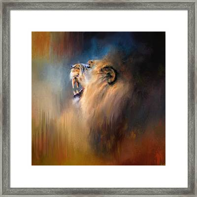 Looking For The Dentist Framed Print