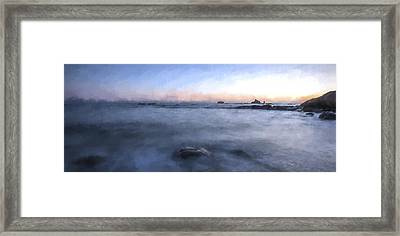 Looking For The Edge II Framed Print by Jon Glaser
