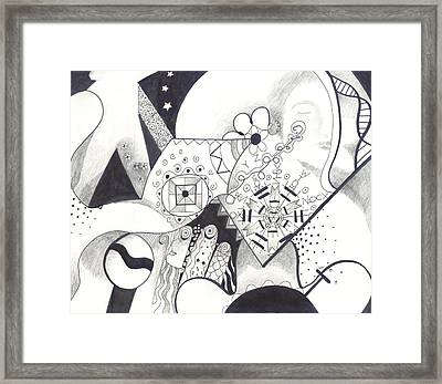 Looking For The Universe In A Grain Of Sand Framed Print