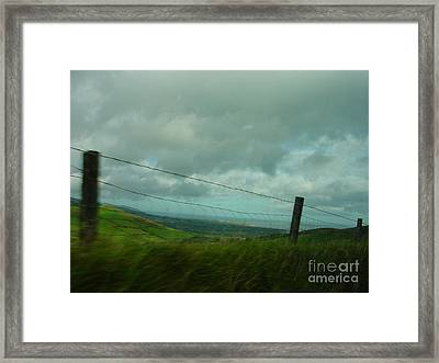 Looking For Tralee Framed Print by PJ  Cloud