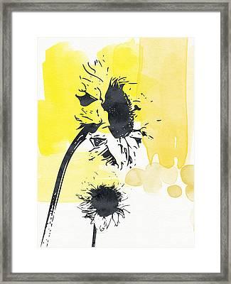 Looking Forward- Art By Linda Woods Framed Print