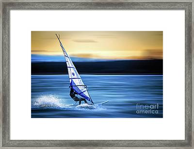 Framed Print featuring the photograph Looking Forward by Hannes Cmarits