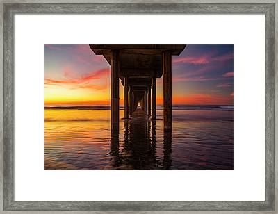 Looking Glass Framed Print by Peter Irwindale