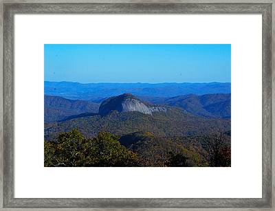 Looking Glass Rock Framed Print